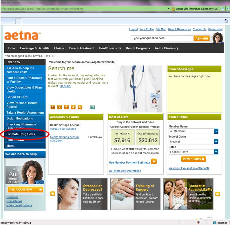 Aetna High Deductible Health Plan FEHB Federal Employees