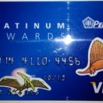 Don't let your Visa Rebate Card become a Dinosaur!