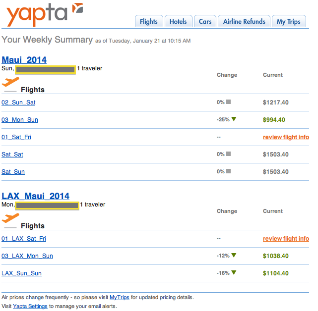 Yapta website review