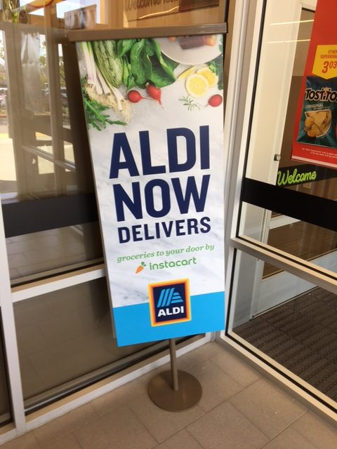 Aldi combines with Instacart